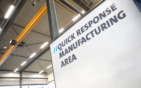 Quick Response manufacturing area
