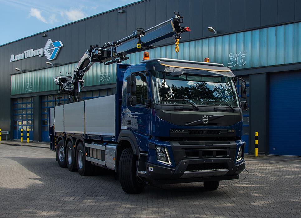 Volvo FMX met Hiabkraanopbouw