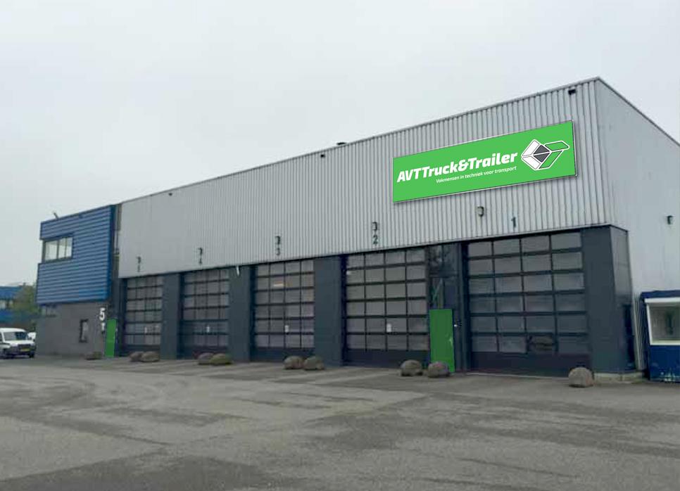 AVT truck en trailer onderhoud locatie waddinxveen